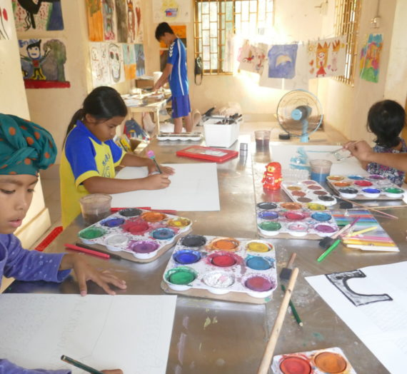 Art Therapy in Cambodia